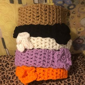 Spunky Bundle of Crocheted Headbands